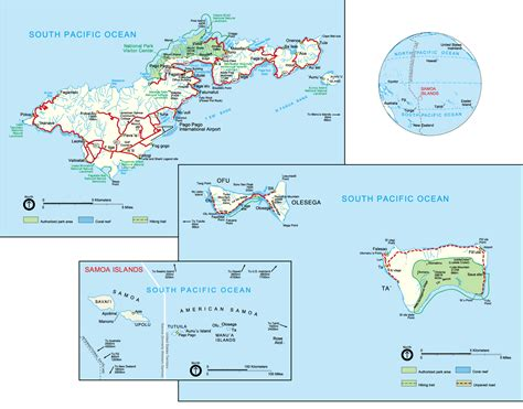 american samoa map maps of american samoa eastern map library maps of the world