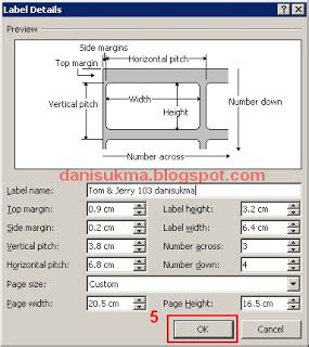 template label undangan tom jerry 121 cara membuat label undangan tom jerry ukuran 121 kamos