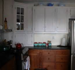 white and cherry kitchen cabinets small cherry white painted kitchen branch hill joinery