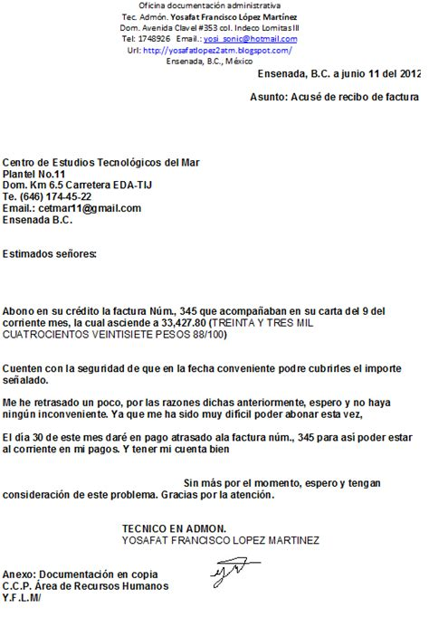 01 acuse de recibo de la declaracin guia didactica documentacion administrativa junio 2012