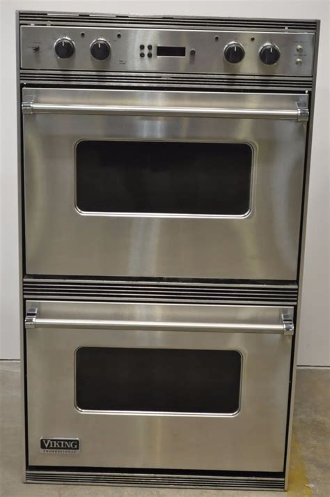 viking wall oven viking vedo205ss 30 quot stainless electric wall oven