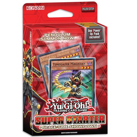 yugioh starter decks yu gi oh space time showdown starter deck 163 9 00