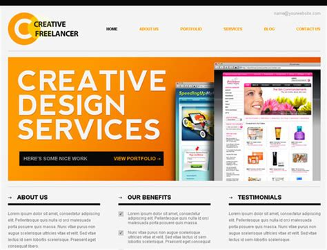 high quality free website templates css heaven