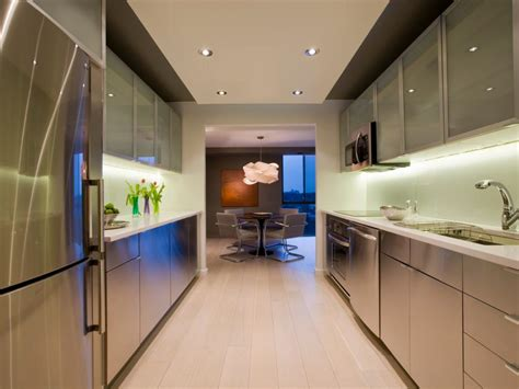 modern galley kitchen ideas galley kitchen remodel ideas hgtv