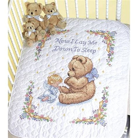 Cross Stitch Baby Quilt Patterns by Baby Hugs Quilt Sted Cross Stitch Kit 43 Quot X 34 Quot Sweet