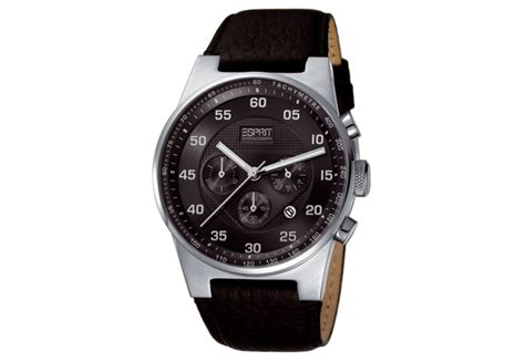 Esprit Leather 01 esprit watchstrap es101911001 black cheapest watches