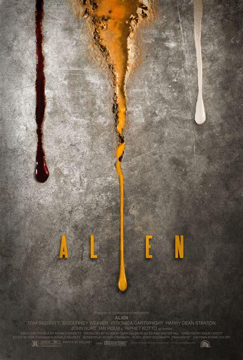 layout artist film alien poster by adamrabalais on deviantart