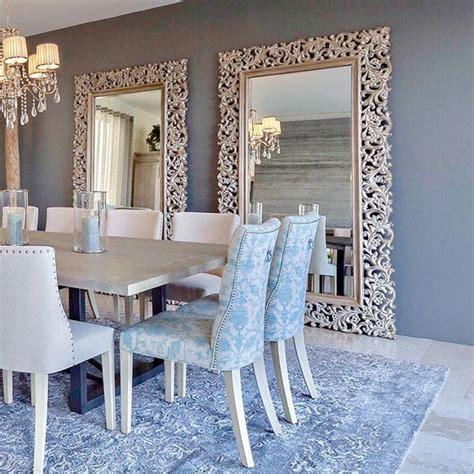 comedores decorados  espejos curso de decoracion