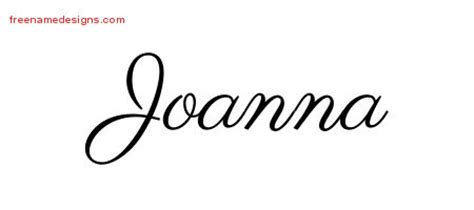 tattoo lettering for joanna joanna archives free name designs