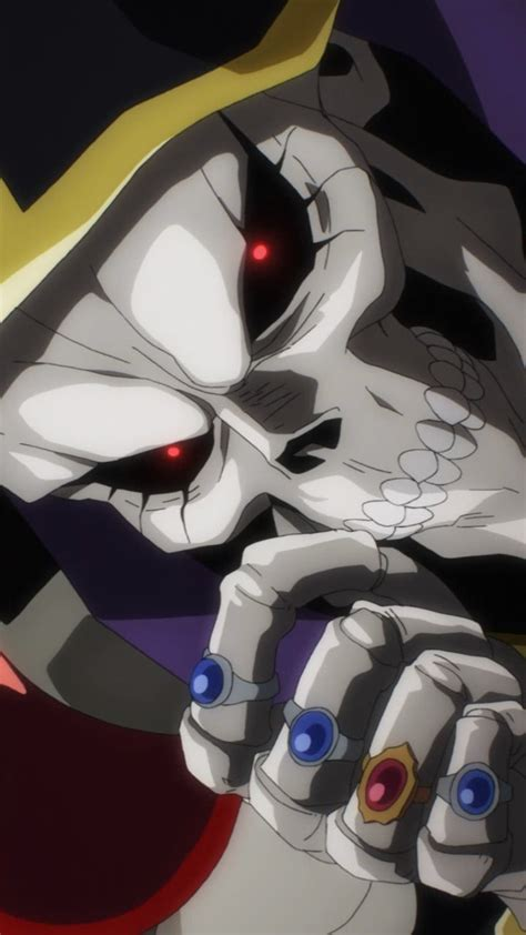 overlord anime wallpaper android overlord ainz ooal gown htc rezound wallpaper 720x1280