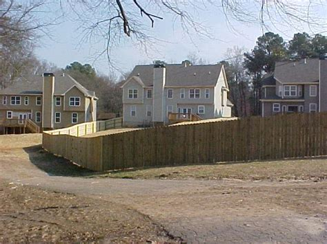 Douglasville Home Depot by Pictures For Atlanta Metro Fence In Douglasville Ga 30154