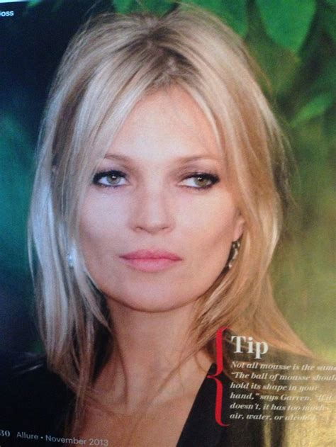 Kate Moss Cuts Bangs Em Or Em by Kate Moss Hair Hairstyle Inspirations