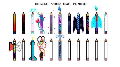 pixilart design your own pencil by youandidoordie