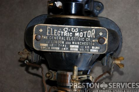 Vintage Electric Motor by General Electric Company Vintage Motor Dynamo