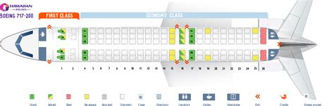delta 717 seat map seat map boeing 717 200 hawaiian airlines best seats in