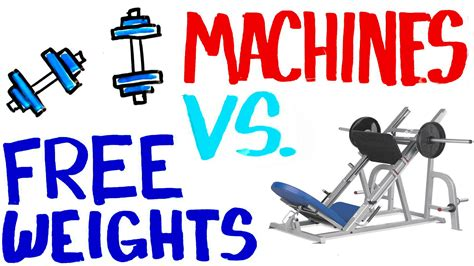 machines vs free weights gains steroids live