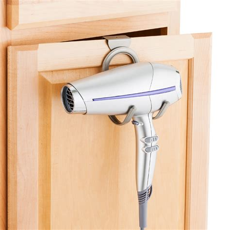 Cabinet Door Hair Dryer Holder by The Cabinet Dryer Holder The Container Store