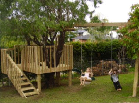 tree house slide diy tree house with slide and swings do it yourself fun ideas