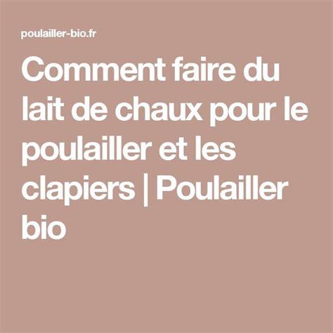 Comment Faire Du Lait De Chaux by Les 25 Meilleures Id 233 Es De La Cat 233 Gorie Clapiers Sur