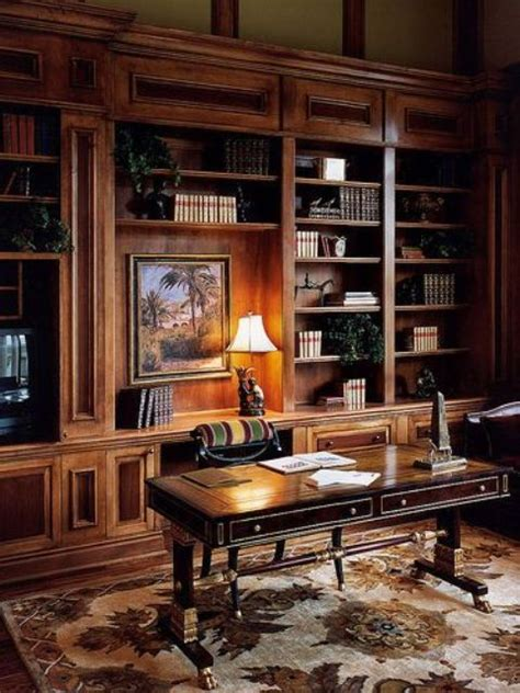 home office library for the home pinterest 33 chic masculine home office furniture ideas digsdigs