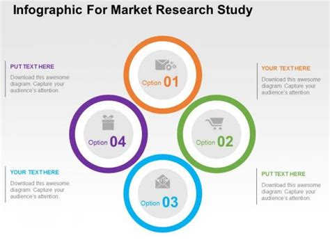 market research powerpoint template infographic for market