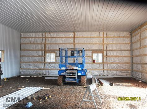 Insulating A Pole Barn Garage by Custom Pole Barn Building Options Interior Exterior
