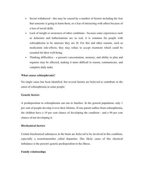 schizophrenia research paper paranoid schizophrenia research paper outline ethisfo x