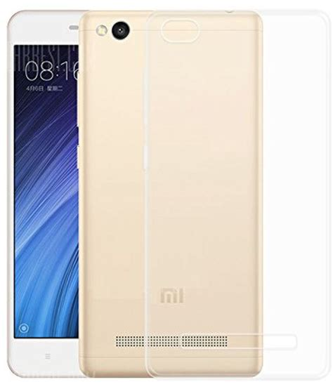 Xiaomi Redmi 4a Soft Shinning Chrome Xiaomi Redmi 4a Softcas xiaomi redmi 4a soft silicon cases aw mart transparent plain back covers at low