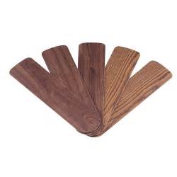 replacement ceiling fan blades westinghouse 52 in oak walnut replacement fan blades 5