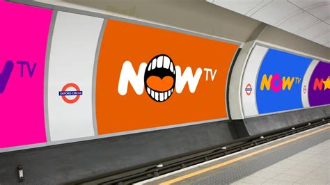 now tv layout venturethree creates new identity for now tv design week
