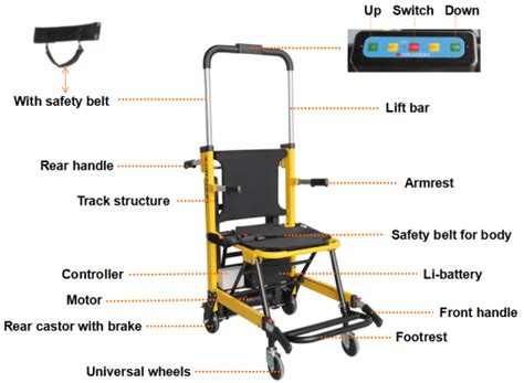 motorized chair for stairs cheap dw st003a ce approved foldable electric motorized