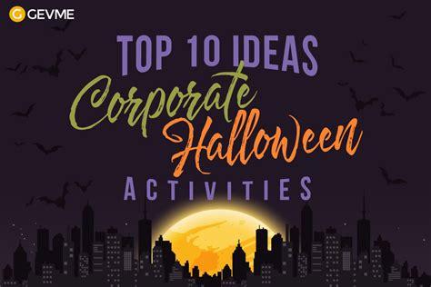 top  ideas  corporate halloween activities