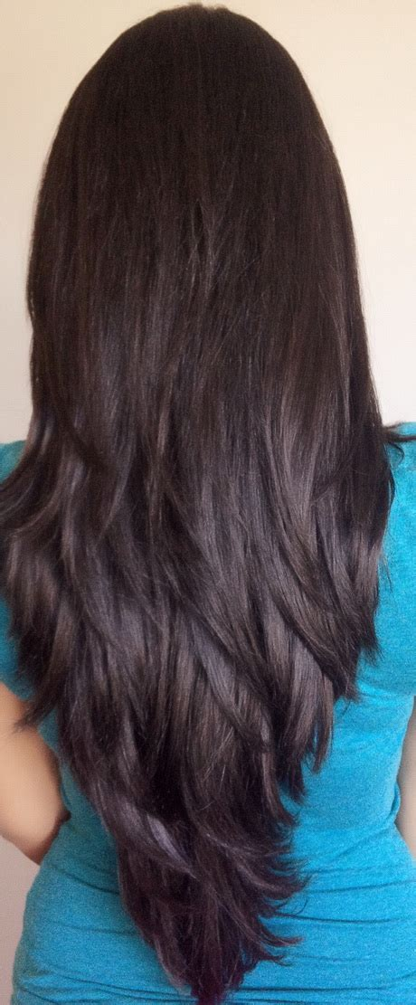 Back Pics Of Long Layered Hair | long layered haircuts back view
