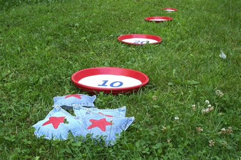 diy bean bag toss bean bag toss craft by photo