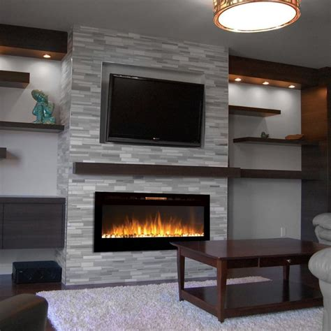 modern wall mount fireplace 18 chic and modern tv wall mount ideas for living room
