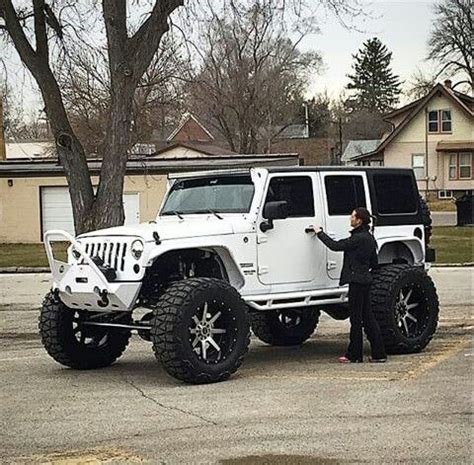 white jeep black rims lifted 1305 best jeeps love jeeps images on