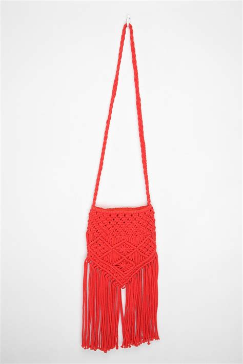 Macrame Bags - macrame bag crafty