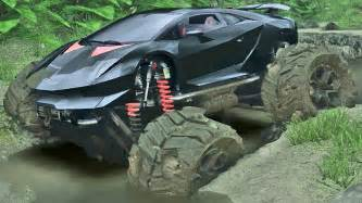 Lamborghini Road Truck Lamborghini Road Spin Tires