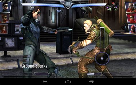 injustice android injustice gods among nightwing vs green arrow android