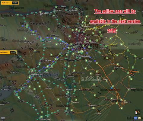 hungary map hungary map v 0 9 26 ets 2 mods