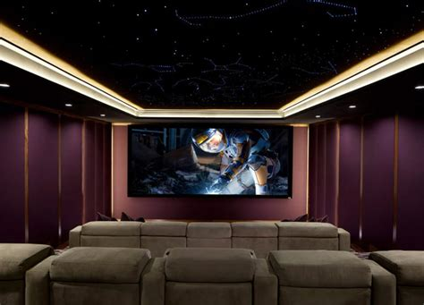 Home Theater Dolby dolby atmos home theater gains finishing touch a starlit ceiling ce pro