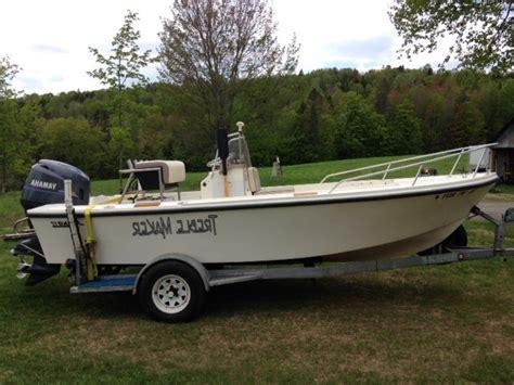 mako boat with yamaha classic mako 17 with 2000 yamaha 4 stroke 115 the hull