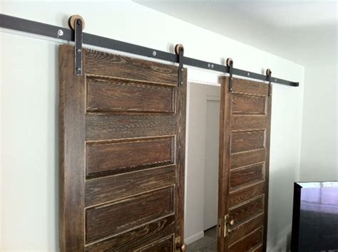 Rustica Barn Door Hardware Modern Barn Door Hardware Salt Lake City By Rustica Hardware