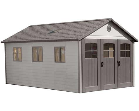 lifetime  plastic storage shed extension kit