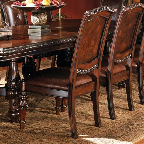 antoinette dining room set steve silver antoinette traditional upholstered dining