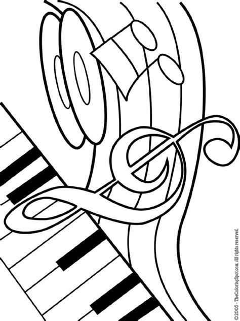 Themed Coloring Pages Musical Theme Free Printable Coloring Pages For Kids by Themed Coloring Pages