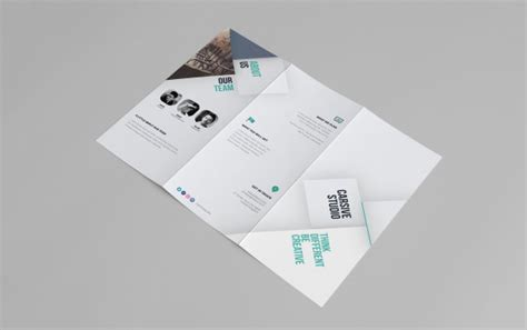 two fold brochure template psd stunning free psd files vector icons apple devices mock