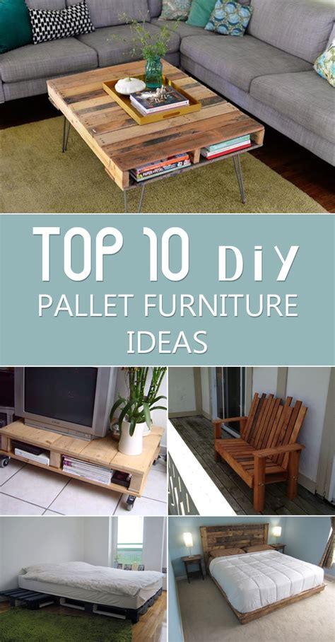 top  diy pallet furniture ideas