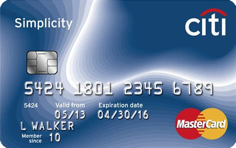 citi simplicity 174 card mc images frompo - Citibank Gift Card