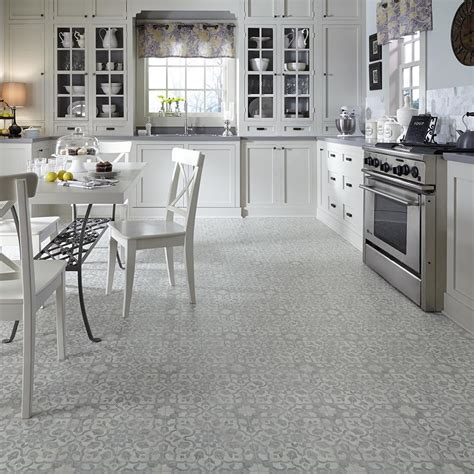 Vinyl Flooring For Kitchen Flooring For A 1970s Kitchen Or Living Area Moroccan Style Filigree Luxury Vinyl Flooring From